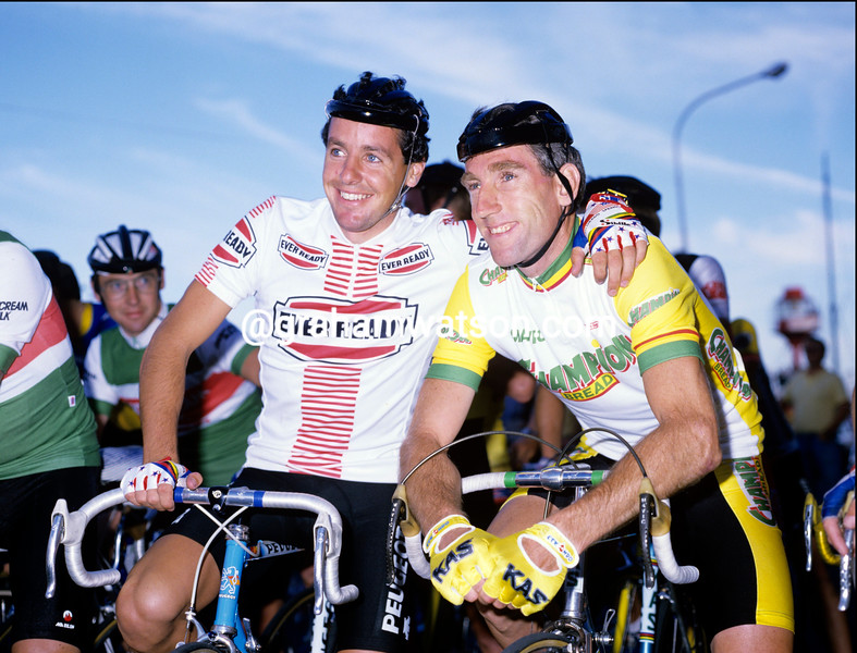 SEAN KELLY AND STEPHEN ROCHE IN 1987
