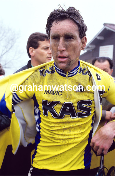 Sean Kelly in the 1986 Paris-Nice