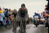 Sean Kelly in the 1985 Paris-Roubaix