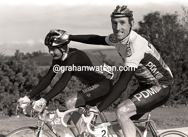 SEAN KELLY IN THE 1992 nissan classic