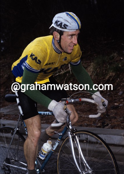 Sean Kelly in the 1988 Paris-Nice
