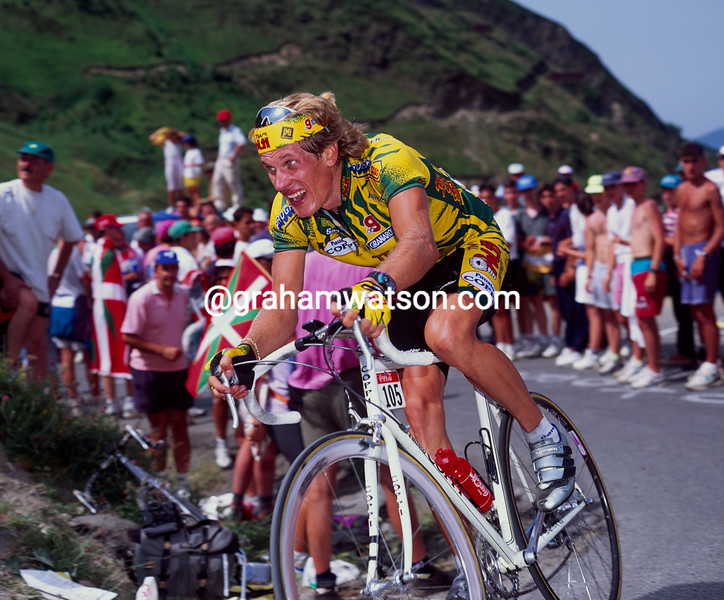 Sergei Outschakov in the 1994 Tour de France