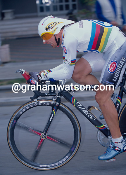 Serhiy Honchar in the 2001 Giro d'Italia