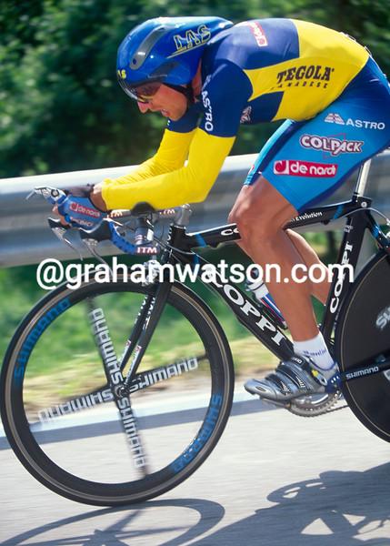 Serhiy Honchar in the 2002 Giro d'Italia