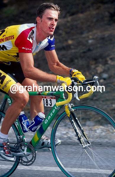 Servais Knaven in the 1998 Vuelta a España