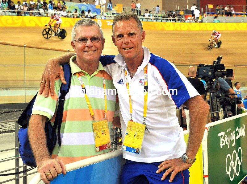 GARY AND SHANE SUTTON AT THE 2008 OLYMPIC GAMES