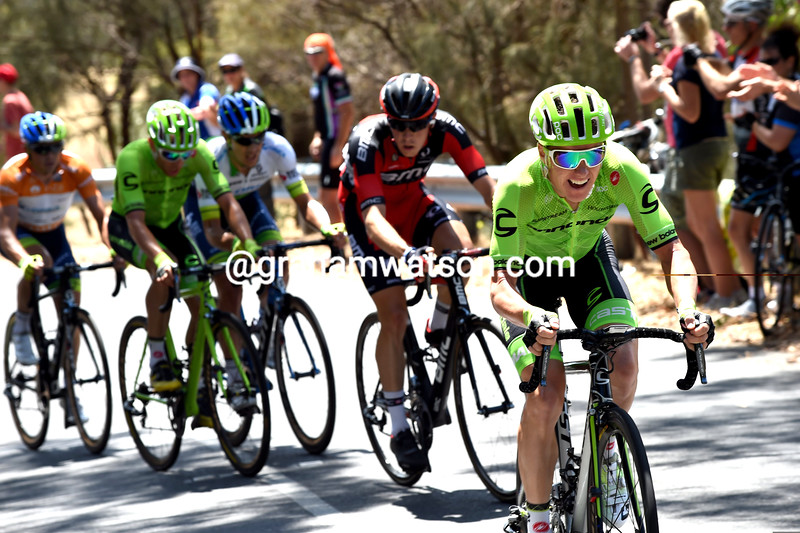 Simon Clarke on stage 5 of the 2016 Tour Down Under