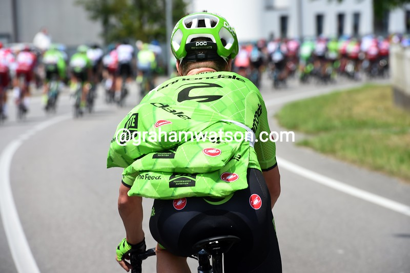 Simon Clarke on stage eleven of the 2016 Giro d'Italia
