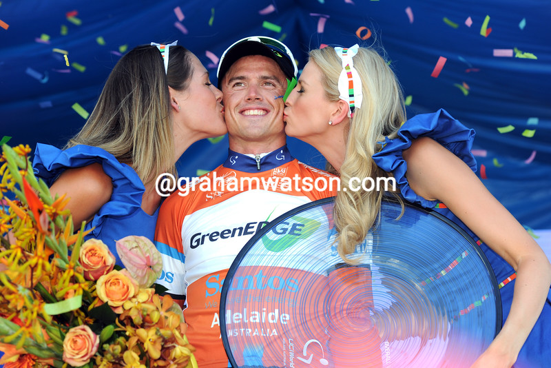 Simon Gerrans on stage six of the 2012 Tour Down Under