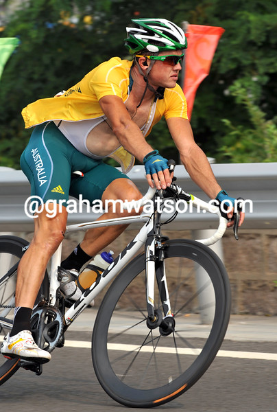 SIMON GERRANS AT THE 2008 OLYMPIC GAMES