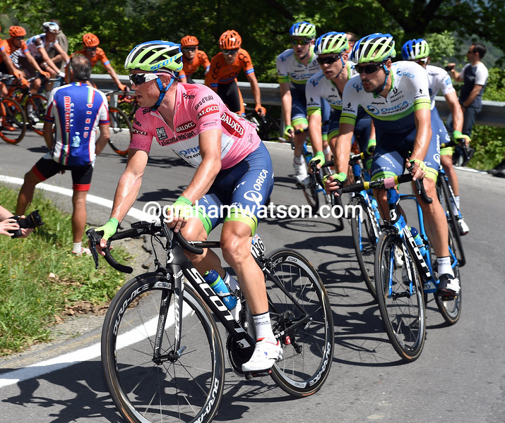 Simon Gerrans on stage two of the 2015 Tour of Italy