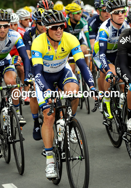 Simon Gerrans on stage two of the 2013 Basque Country Tour