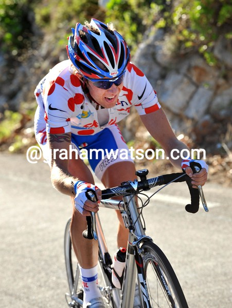 THIERRY LHOTELLERIE ON STAGE SEVEN OF THE 2008 PARIS-NICE