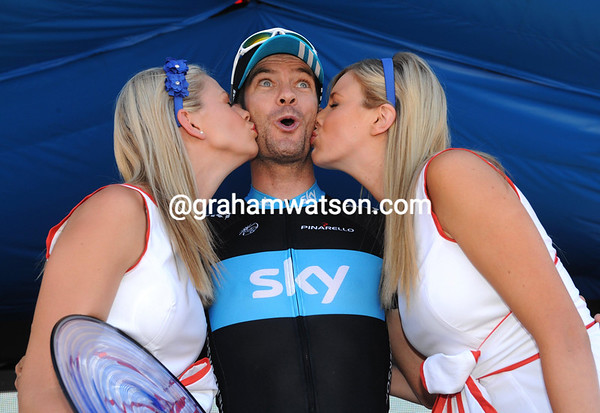GREG HENDERSON AFTER STAGE SIX OF THE TOUR DOWN UNDER