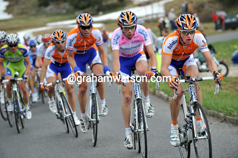 RABOBANK CHASES IN THE 2009 TOUR DE ROMANDIE