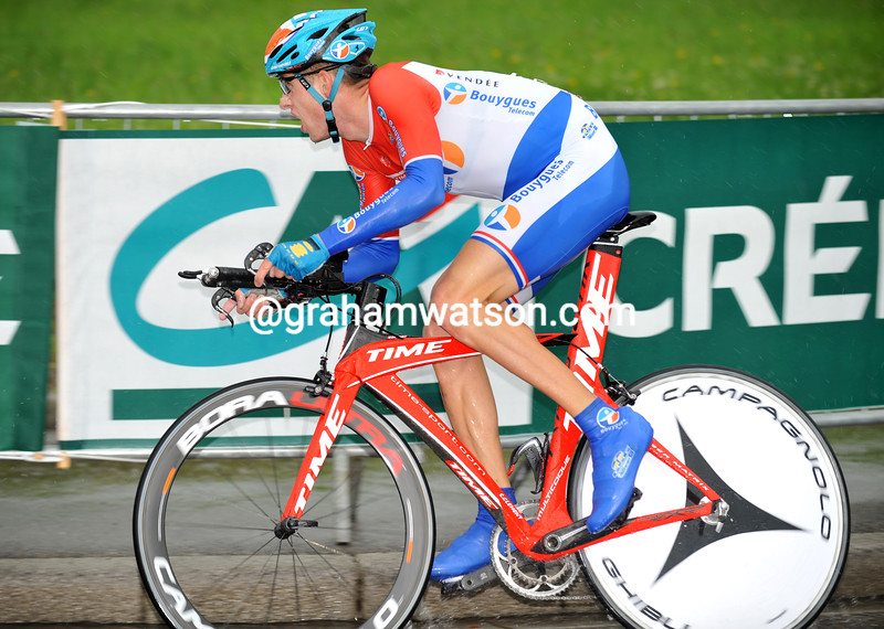 STEF CLEMENT IN THE 2008 DAUPHINE-LIBERE