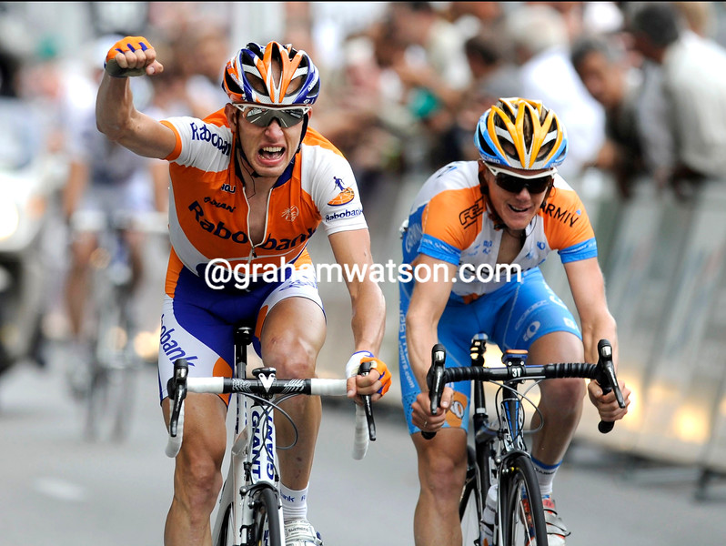 STEF CLEMENT WINS STAGE EIGHT OF THE 2009 DAUPHINE-LIBERE