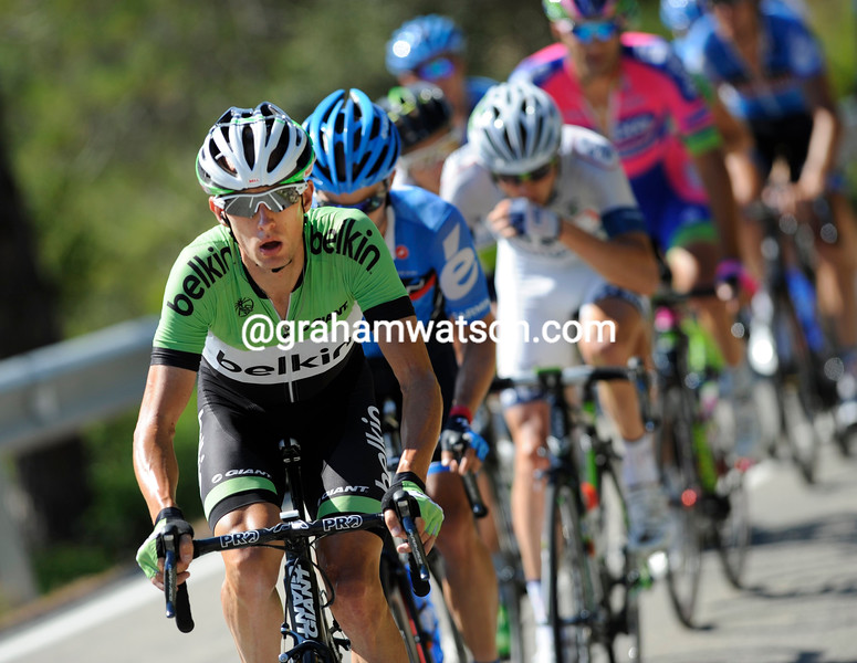 Stef Clement on stage twelve of the 2013 Tour of Spain