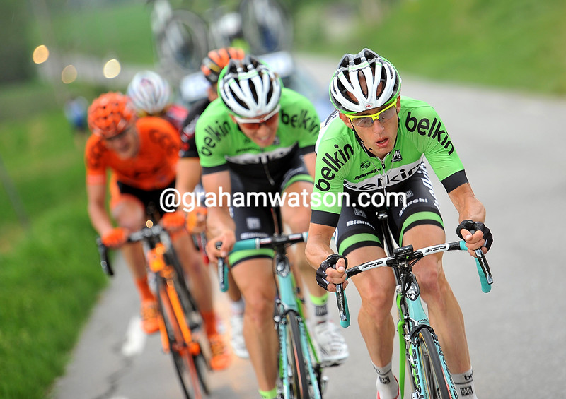 Stef Clement and Sep Van Marcke in  the 2014 Tour of Norway
