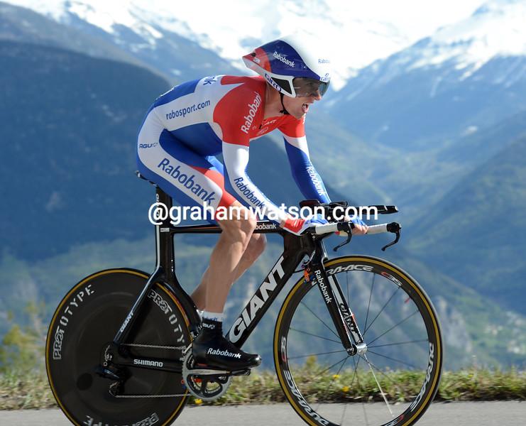 Stef Clement in the 2012 Tour de Romandie