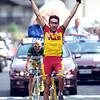Giuseppe Guerini wins a stage in the 1998 Giro d'Italia