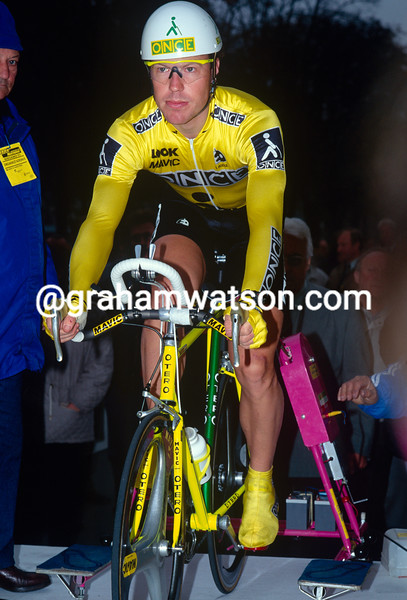 Stephen Hodge in the 1991 GP des Nations