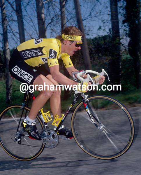 Stephen Hodge in the 1992 Criterium International
