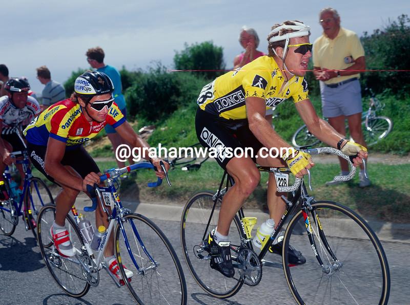Stephen Hodge in the 1990 Wincanton Classic