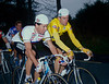 Sean Kelly and Stephen Roche in the 1987 Nissan Classic