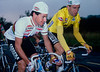 Stephen Roche and Sean Kelly in the 1987 Nissan Classic