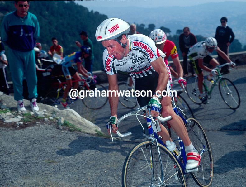 Stephen Roche in the 1991 Paris-Nice