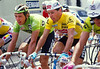 Stephen Roche and Jean-Paul Van Poppel in the 1987 Tour de France