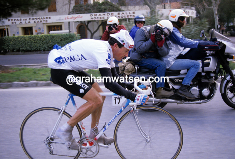 Stephen Roche in the 1987 Paris-Nice