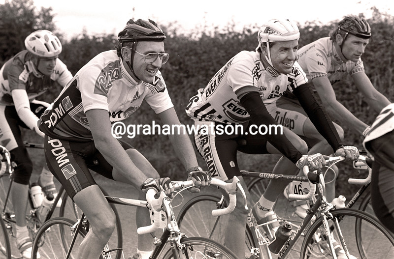 MARTIN EARLEY AND STEPHEN ROCHE IN THE NISSAN CLASSIC