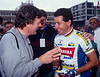 Stephen Roche and Frank Quinn