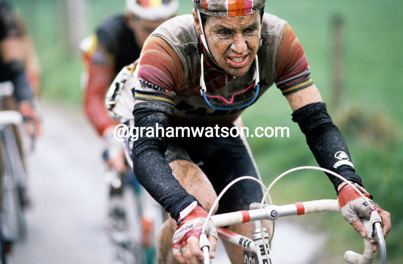 Stephen Roche in the 1989 Tour of Flanders