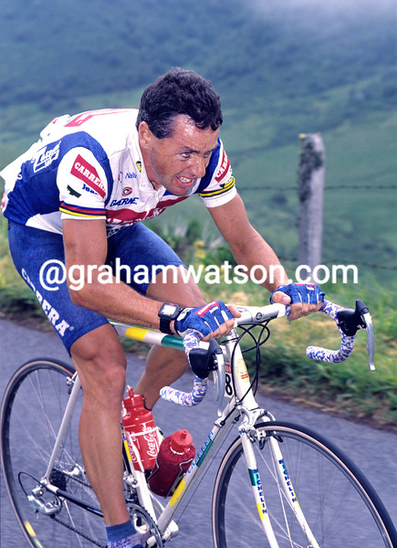 Stephen Roche in the 1992 Tour de France