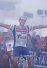 Stephen Roche talks wins a stage in the 1992 Tour de France