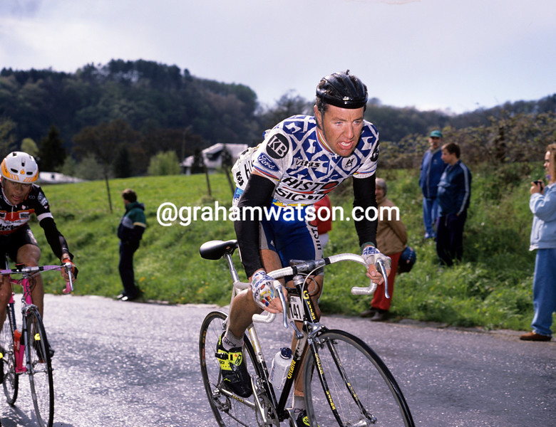 STEPHEN ROCHE IN THE 1989 LIEGE-BASTOGNE-LIEGE
