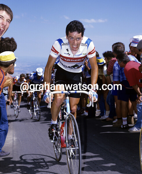 STEPHEN ROCHE IN THE 1986 TOUR DE FRANCE
