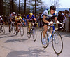 Stephen Roche in the 1984 Liege-Bastogne-Liege