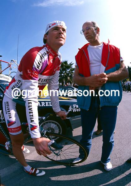 Steve Bauer and Paul Koechli