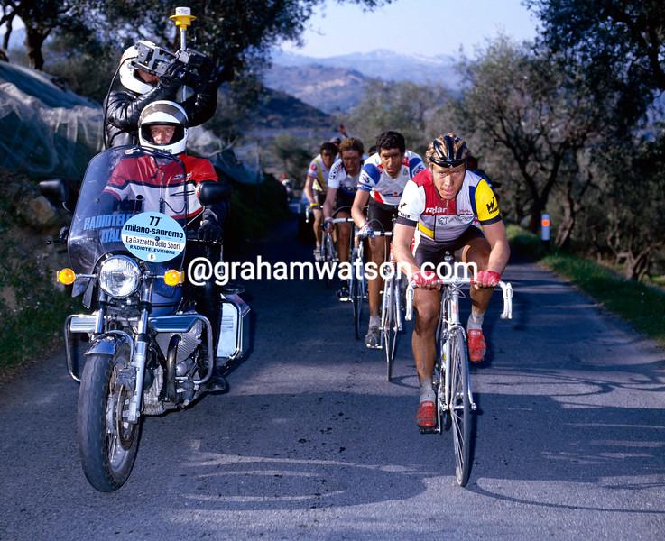 Steve Bauer in the 1985 Giro di Lombardia