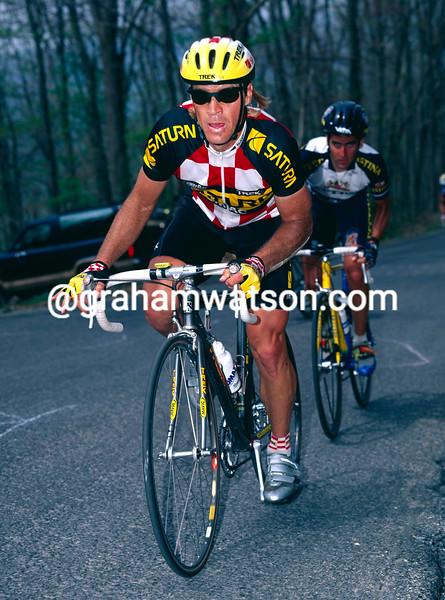Steve Bauer in the 1996 Tour du Pont