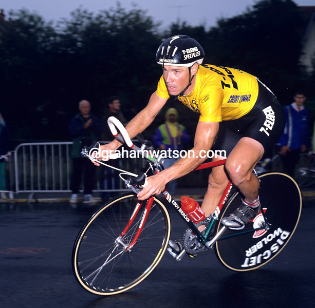 Steve Bauer in the 1990 Tour de France