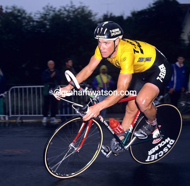 Steve Bauer in the 1990 Tour de France
