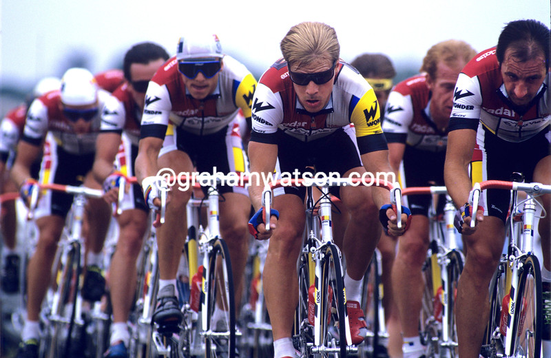 Steve Bauer in the 1986 Tour de France