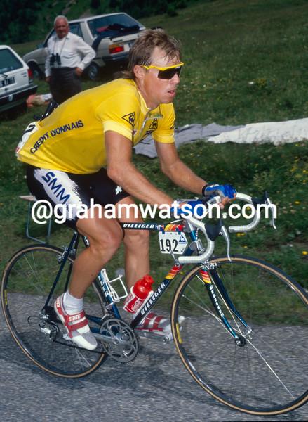 Steve Bauer in the 1989 Tour de France