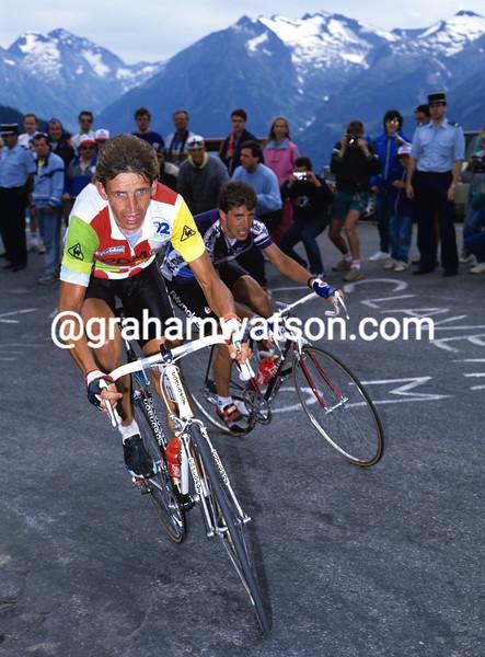 Steven Rooks in the 1989 Tour de France