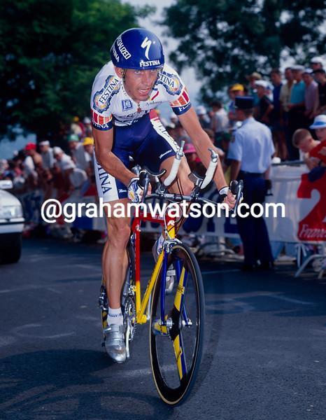 Steven Rooks in the 1993 Tour de France